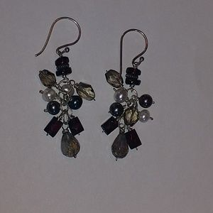 Peyote Bird Sterling Silver Dangle Earrings